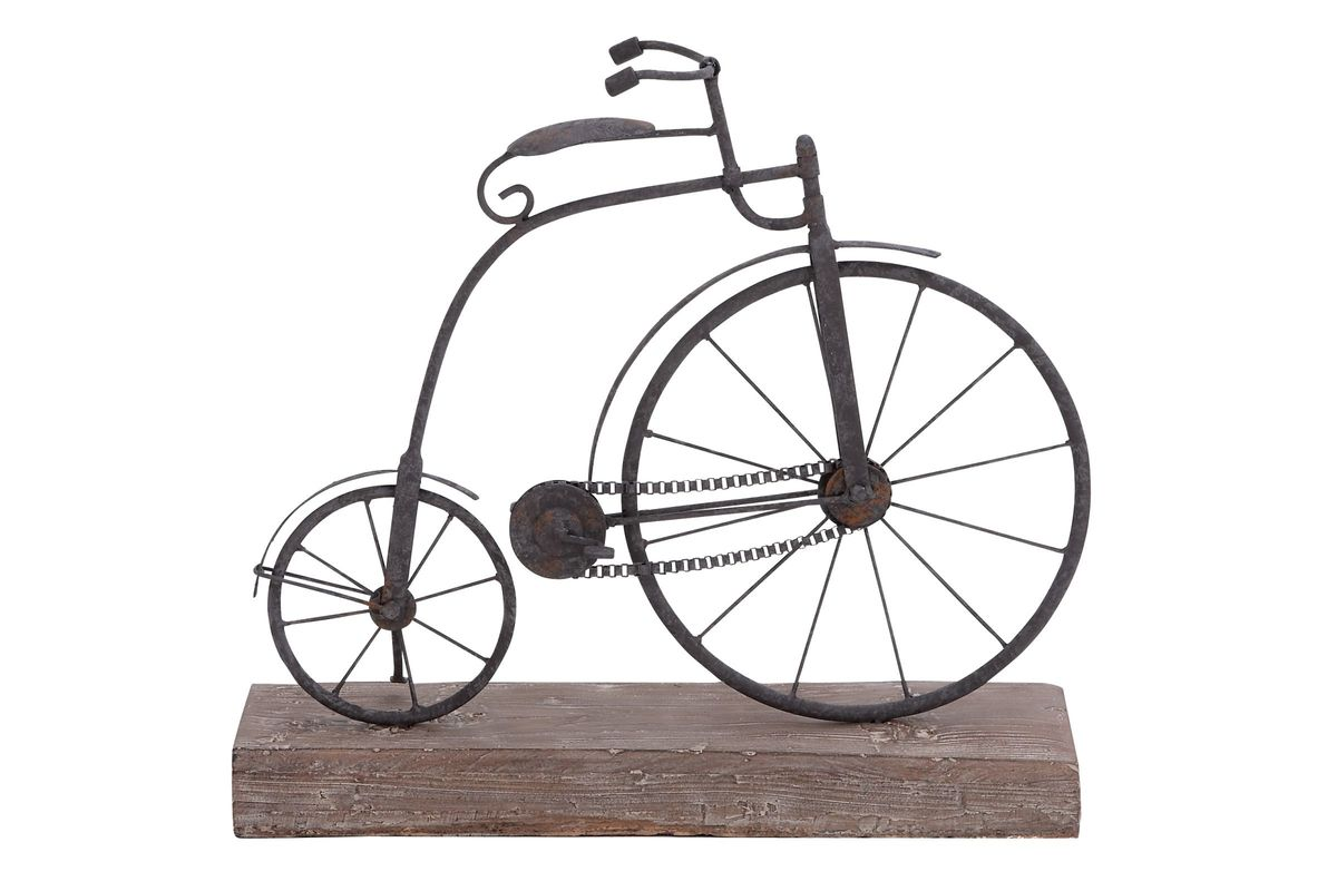 Vintage Reflections Penny-Farthing Bicycle Sculpture from Gardner-White Furniture