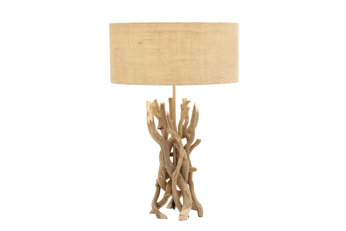 Organic Inspired Driftwood Twig Table Lamp By UMA From Gardner White  Furniture