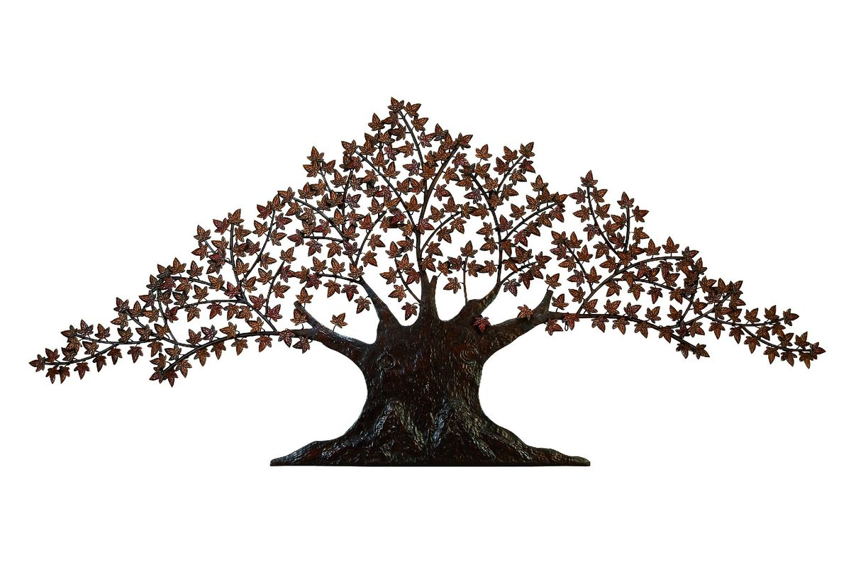 Updated Traditional Maple Tree Wall Sculpture from Gardner-White Furniture