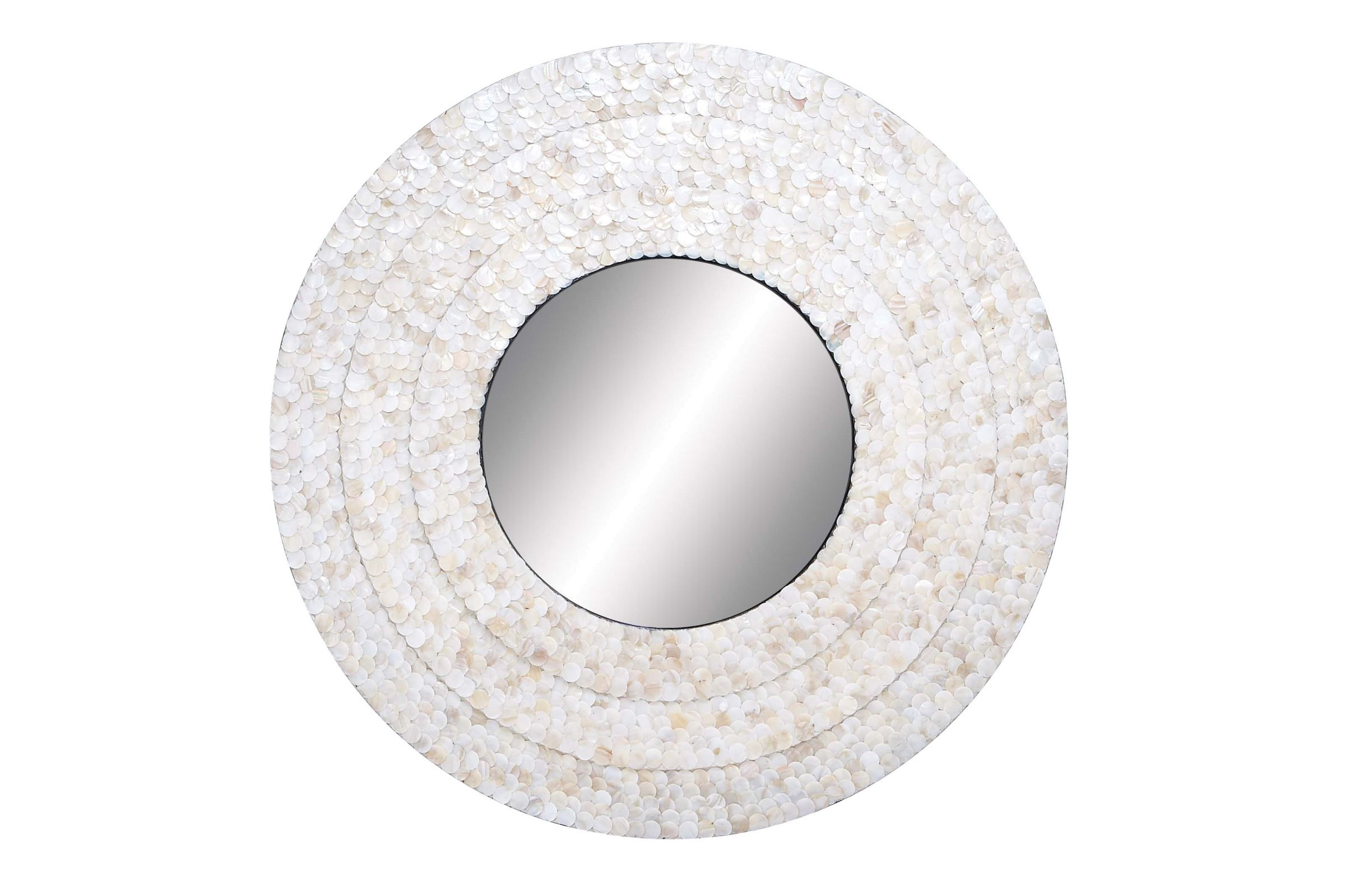 Wall Mirror With Mother Of Pearl By Uma