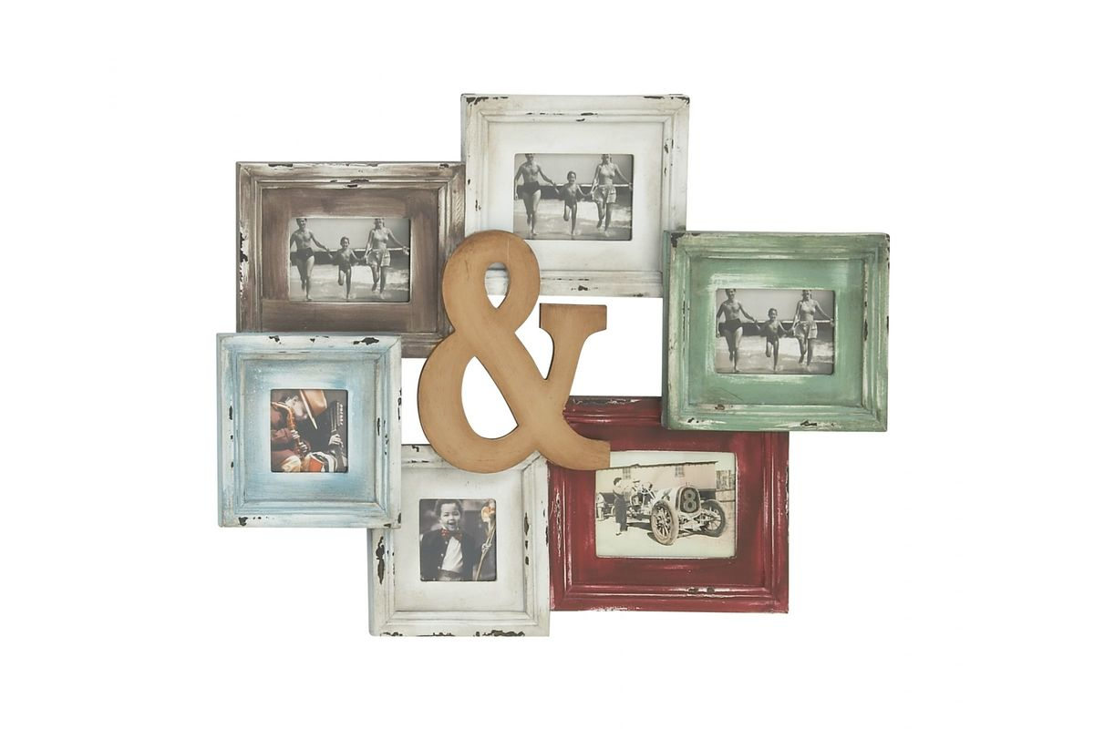 Shabby Chic Rustic Frames with Ampersand at Gardner-White