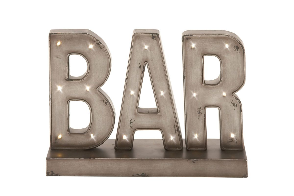 Wine Country Rustic LED Bar Sign from Gardner-White Furniture