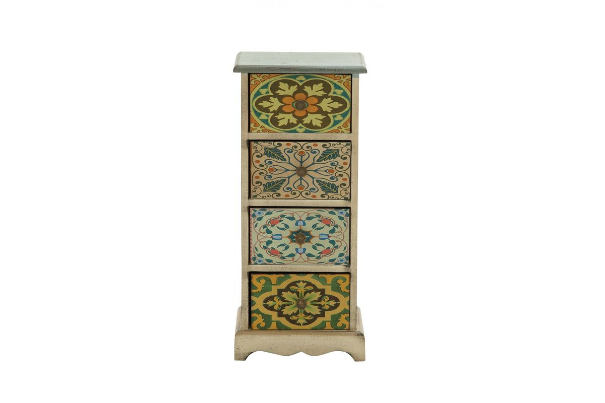 New Traditional Canvas 4-Drawer Accent Chest from Gardner-White Furniture