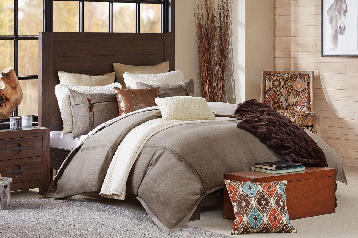 River 8-Piece Queen Comforter Set from Gardner-White Furniture