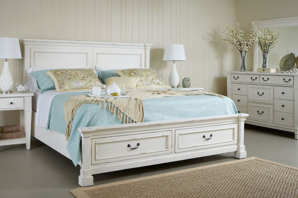 walton 4 piece queen bedroom set