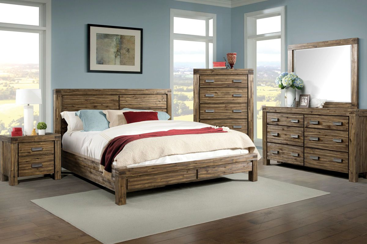 joplin 5 piece king bedroom set at gardner white. Black Bedroom Furniture Sets. Home Design Ideas