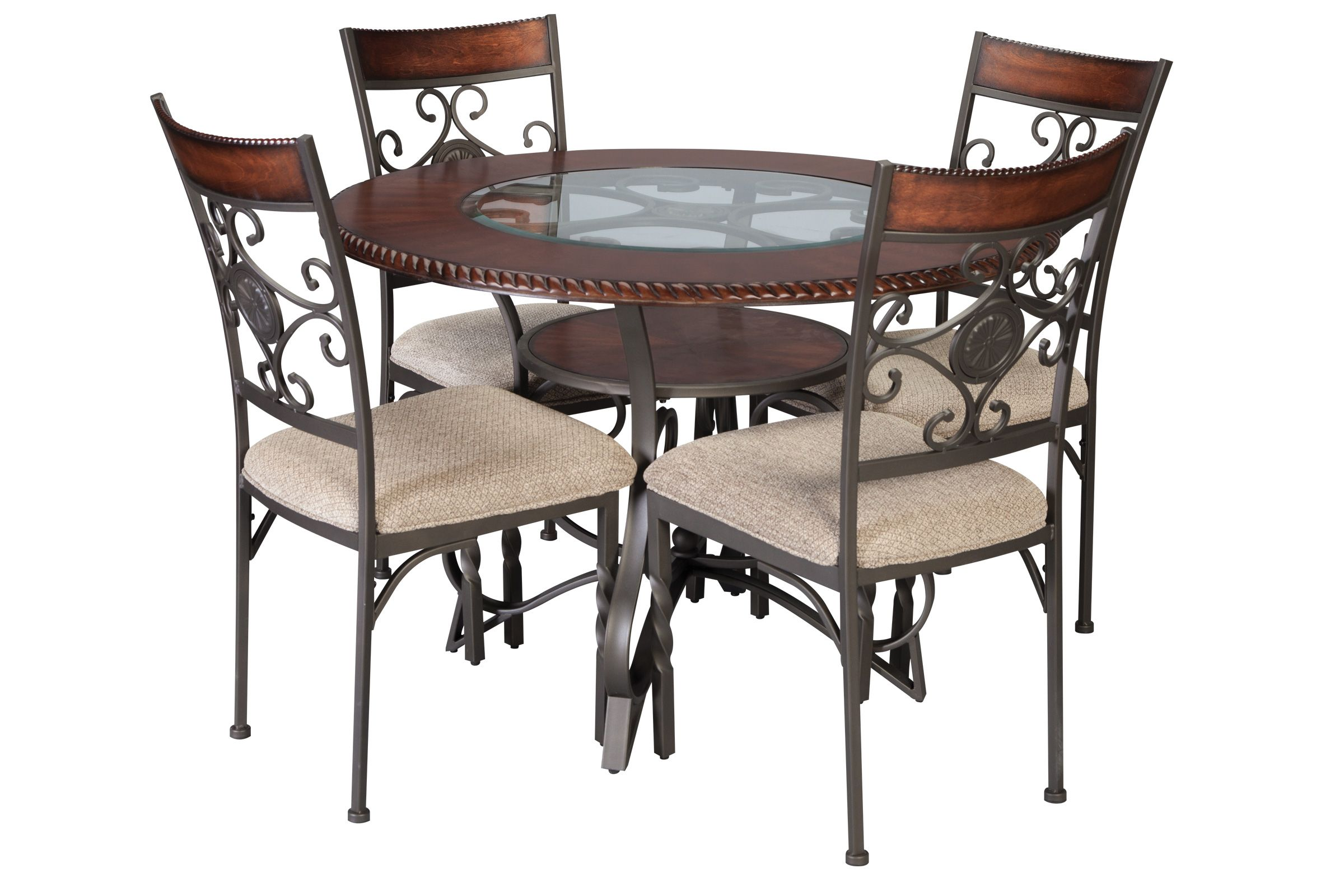 Sammy Dining Table + 4 Dining Chairs