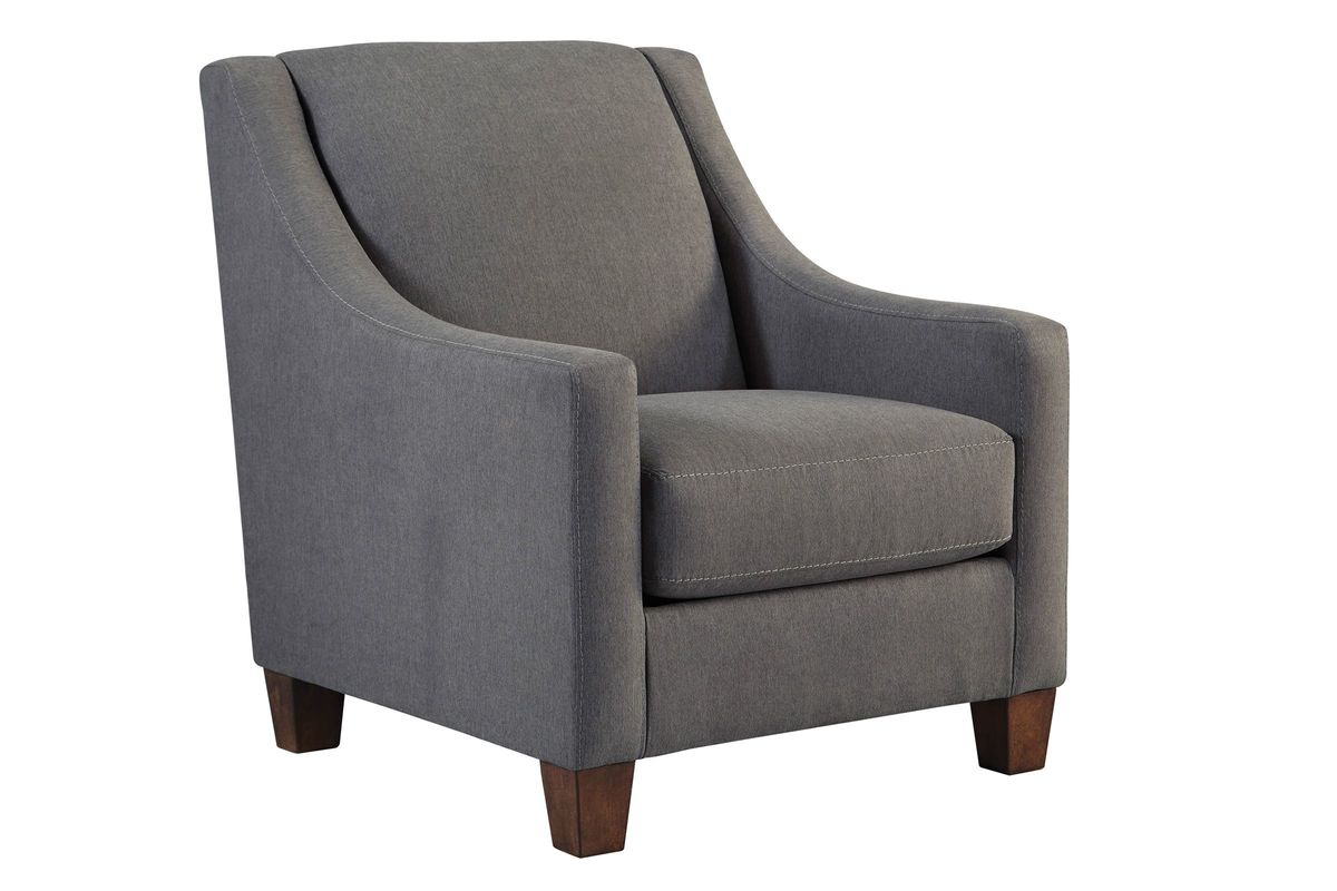 Grey Malo Accent Chair from Gardner-White Furniture