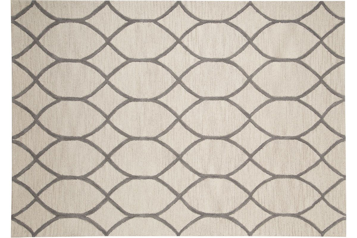 Lauder Large Rug In Cream By Ashley From Gardner White Furniture