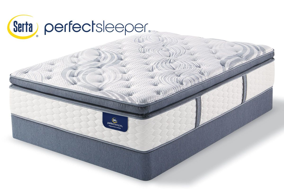Serta Perfect Sleeper Aldrich Super Pillow Top Twin Mattress