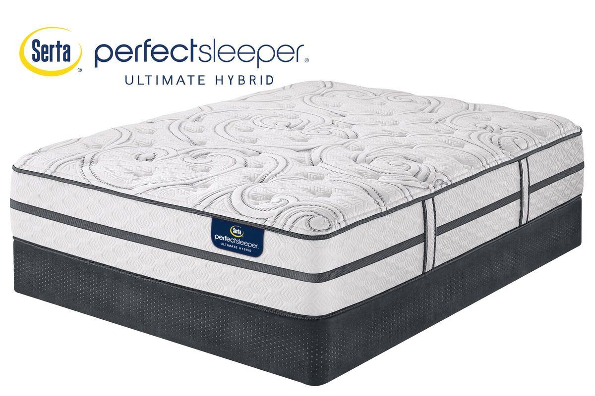 Serta 174 Perfect Sleeper 174 Ultimate Hybrid Silverbrook Plush