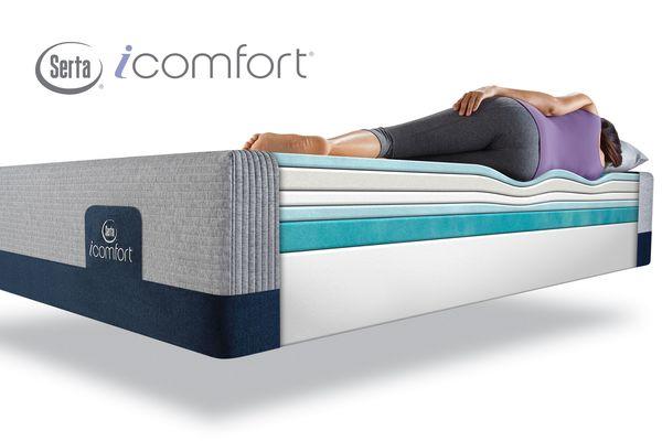SertaR IComfortR BlueMax 1000 Cushion Firm Queen Mattress Save 200 Now 1799