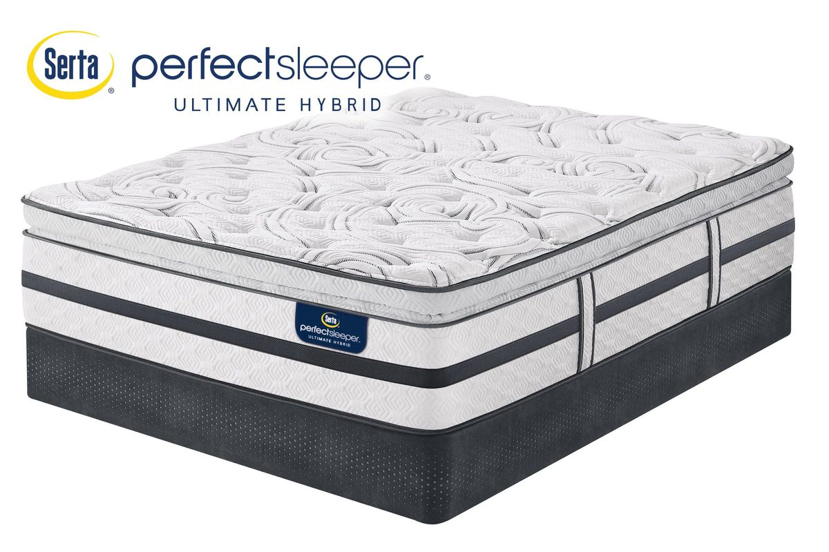 Clearance Serta Perfect Sleeper Ultimate Hybrid Woodview Super