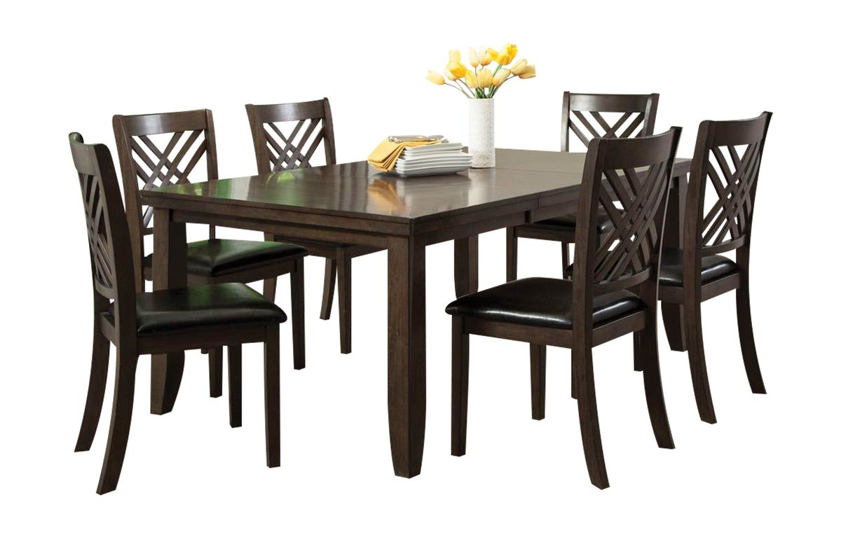 Lebaron Table + 6 Side Chairs from Gardner-White Furniture
