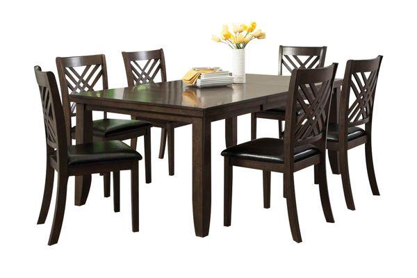 Lebaron Table + 6 Side Chairs