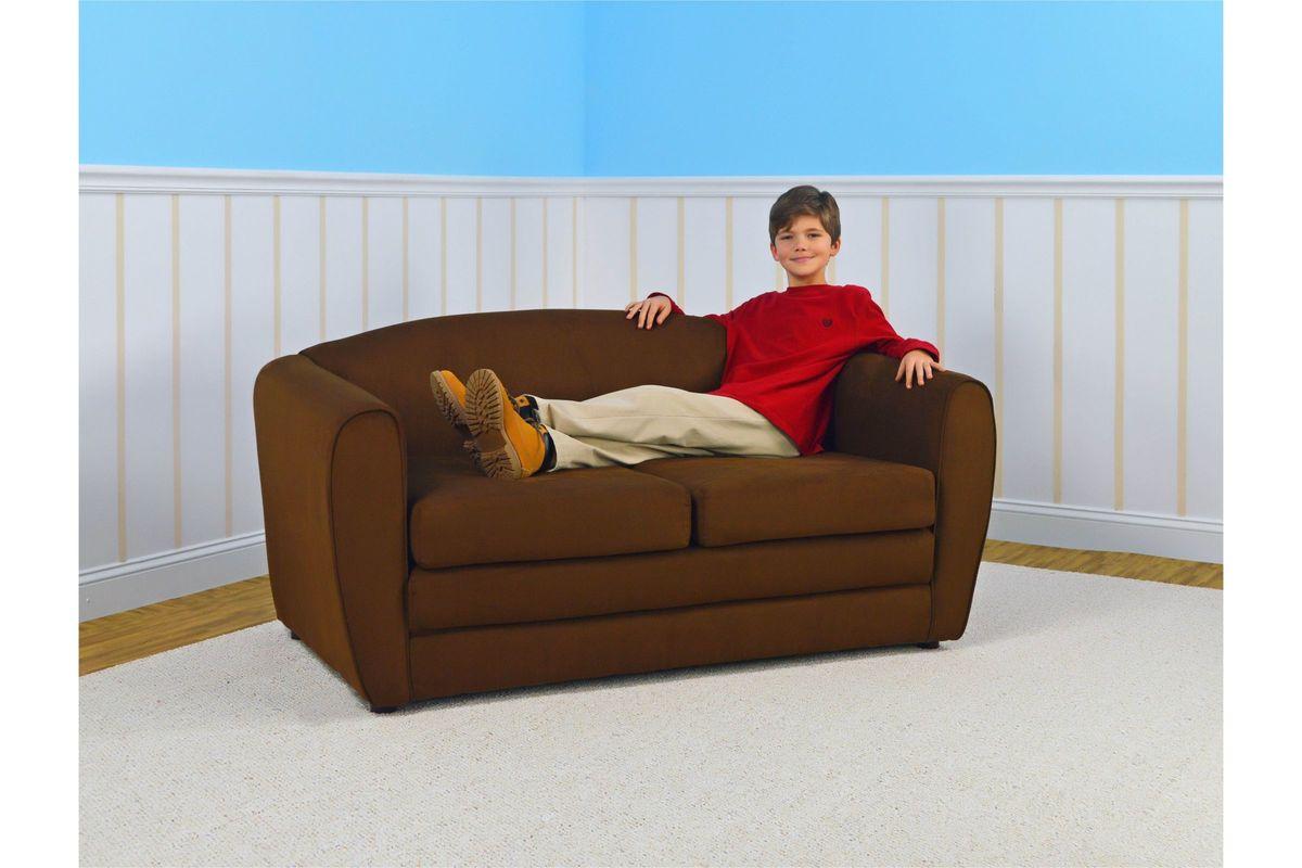 Tween Sleeper Sofa In Bison By Kangaroo Trading Co