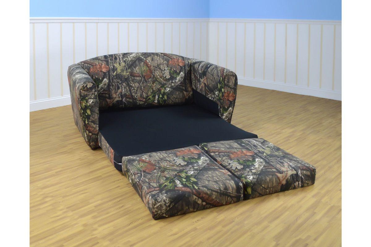 Tween Sleeper Sofa In Mossy Oak Nativ Living Country By Kangaroo Trading Co From Gardner