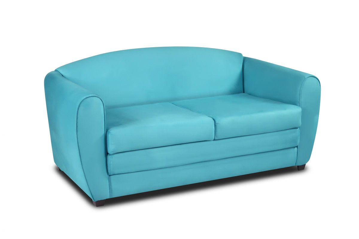 Tween Sleeper Sofa In Sky Blue By Kangaroo Trading Co. From Gardner White  Furniture