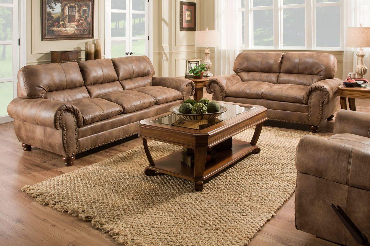 Rochester sofa loveseat at gardner white for Living room furniture rochester ny