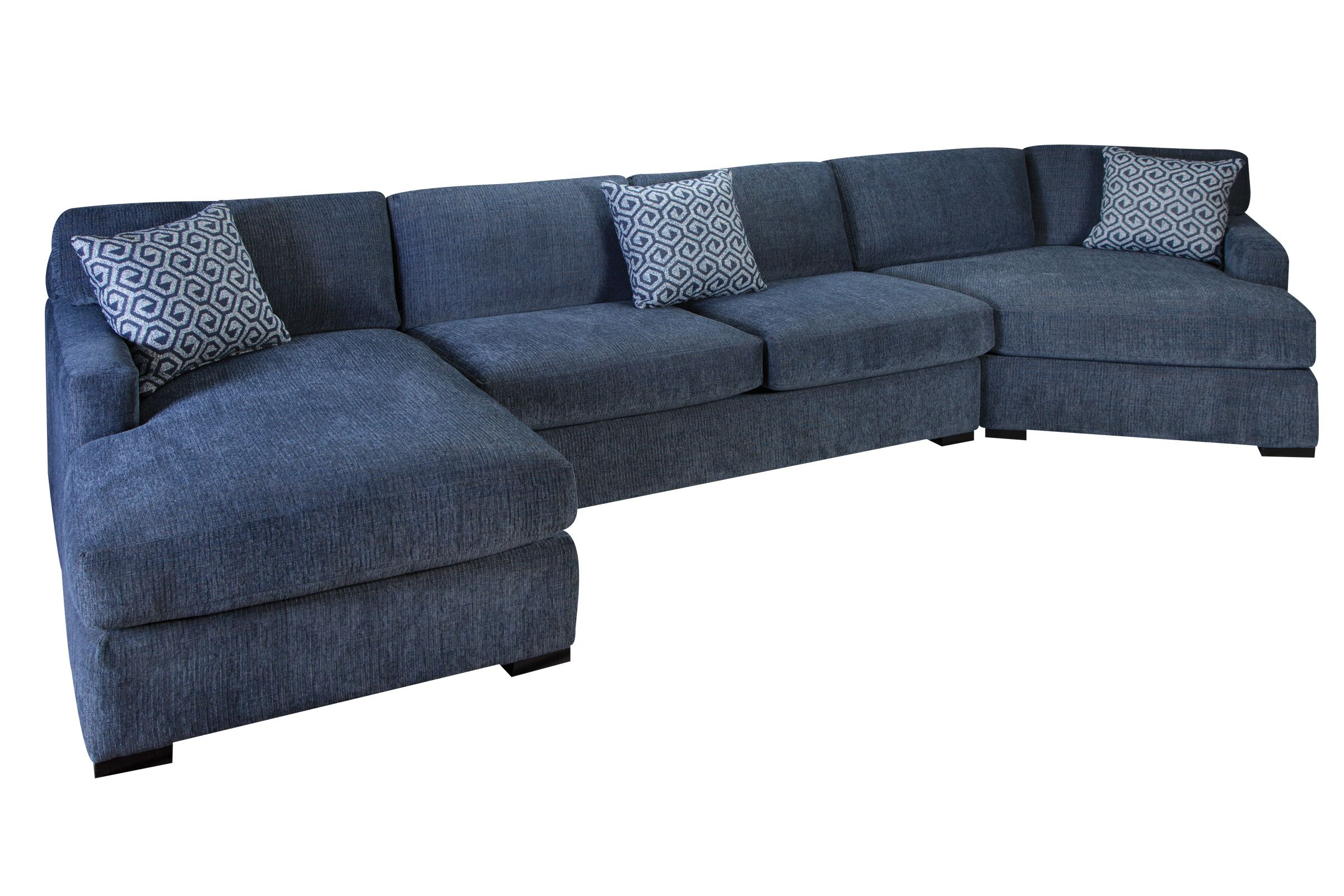Sensational Gregory 3 Piece Sectional Ocoug Best Dining Table And Chair Ideas Images Ocougorg