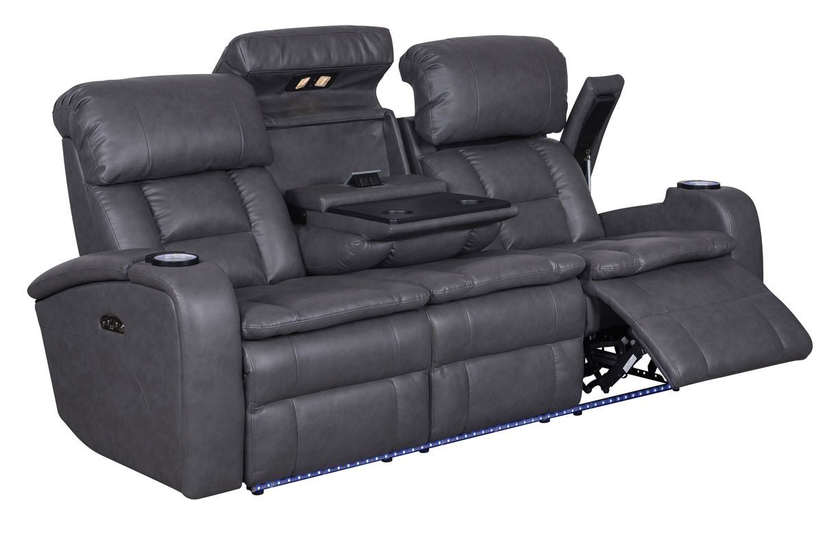 Power Reclining Sofa : Zenith power reclining sofa at gardner white