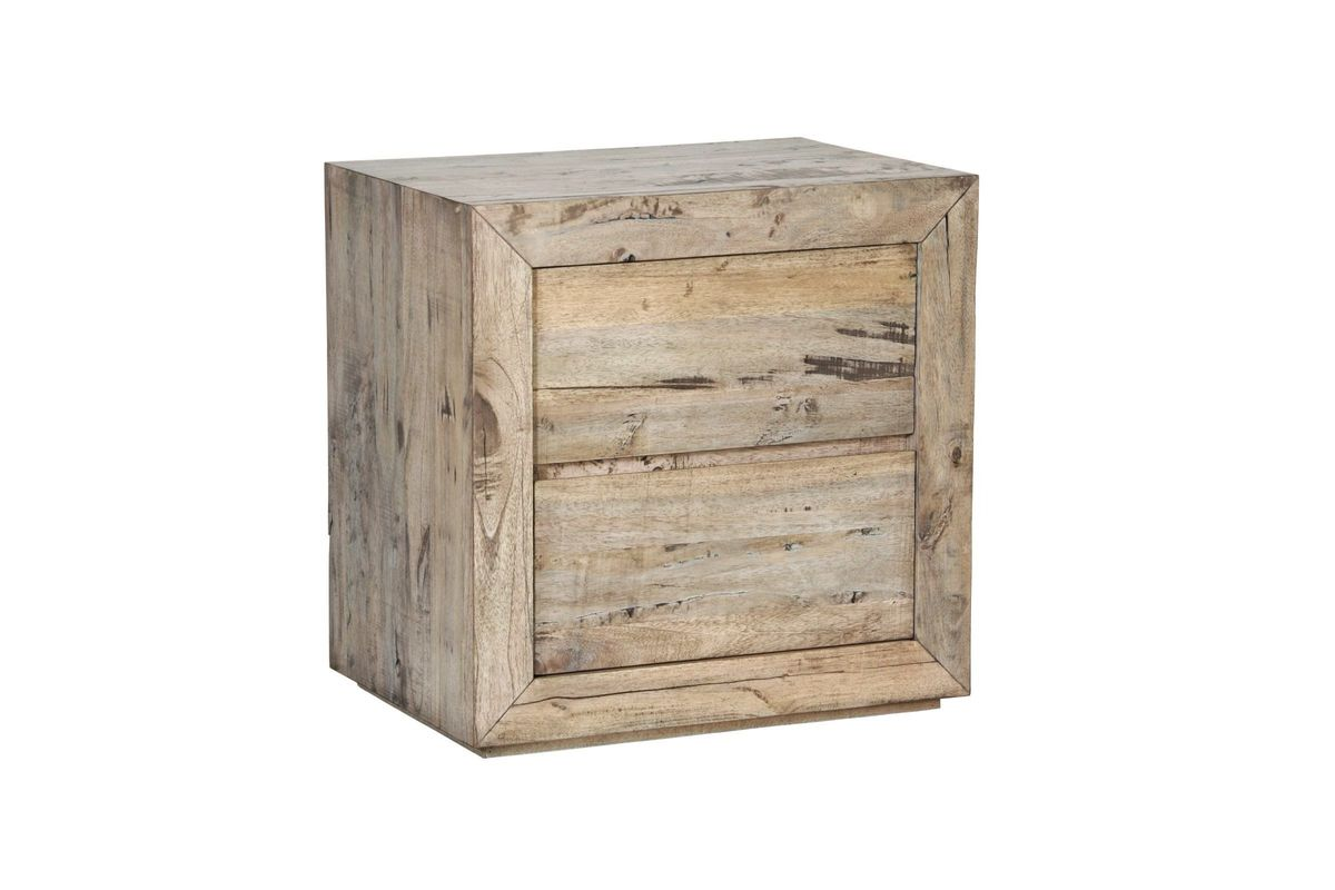 Renewal Reclaimed Wood Nightstand At Gardner White