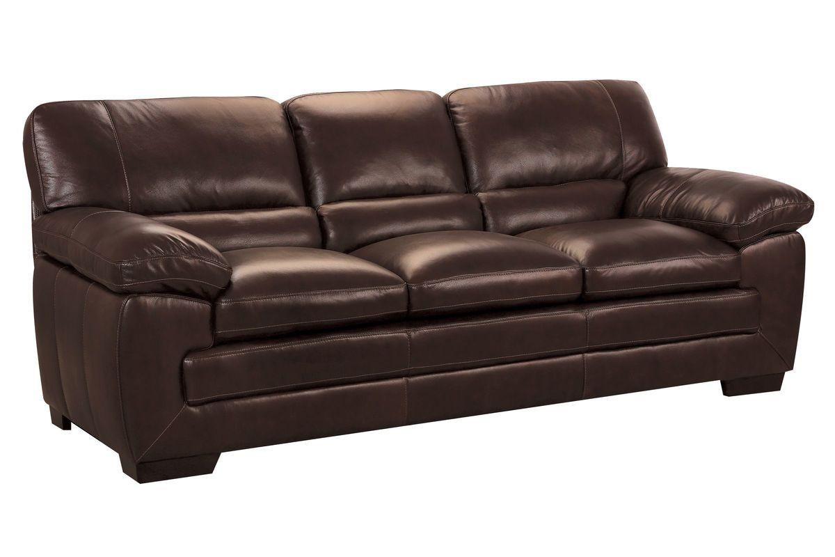 Spencer Leather Sofa At Gardner White