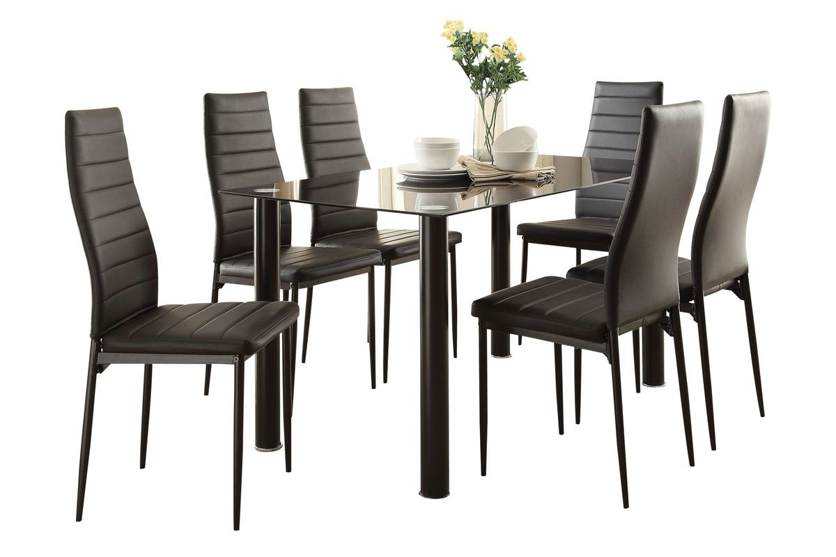 Russell Table + 6 Side Chairs from Gardner-White Furniture