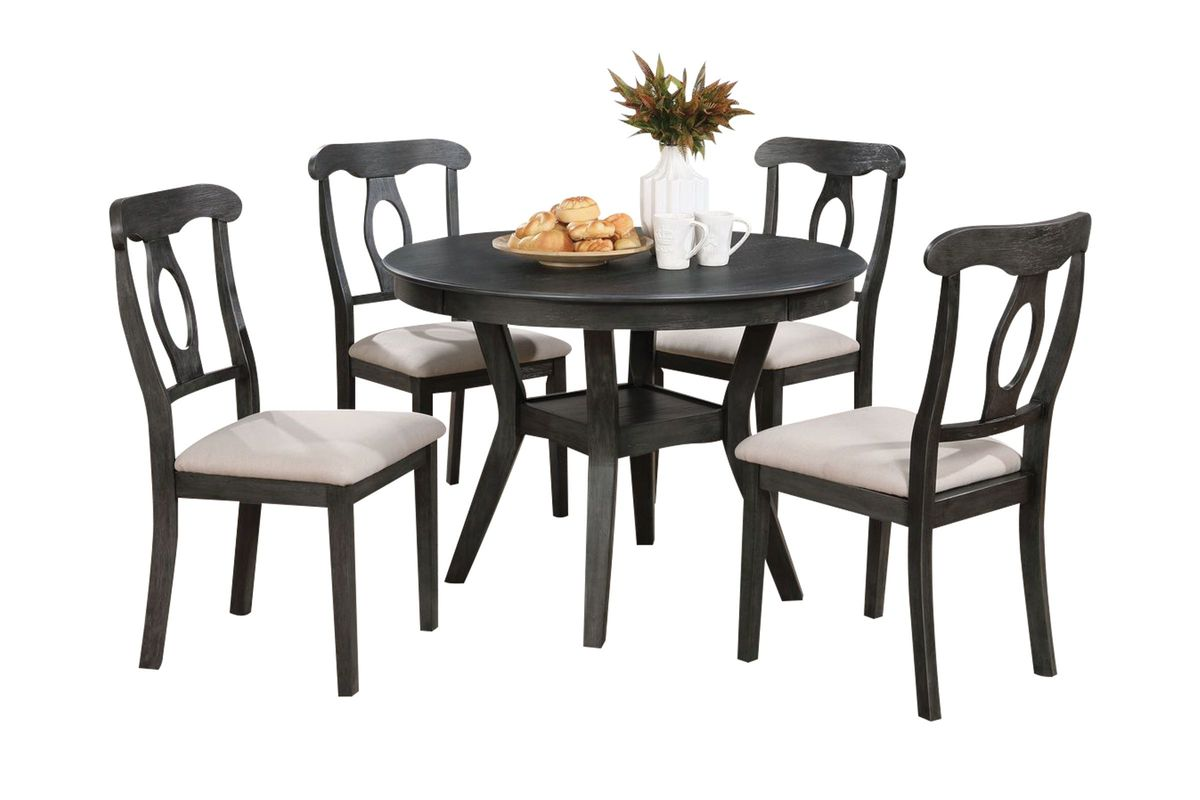 Bishop Table + 4 Chairs from Gardner-White Furniture