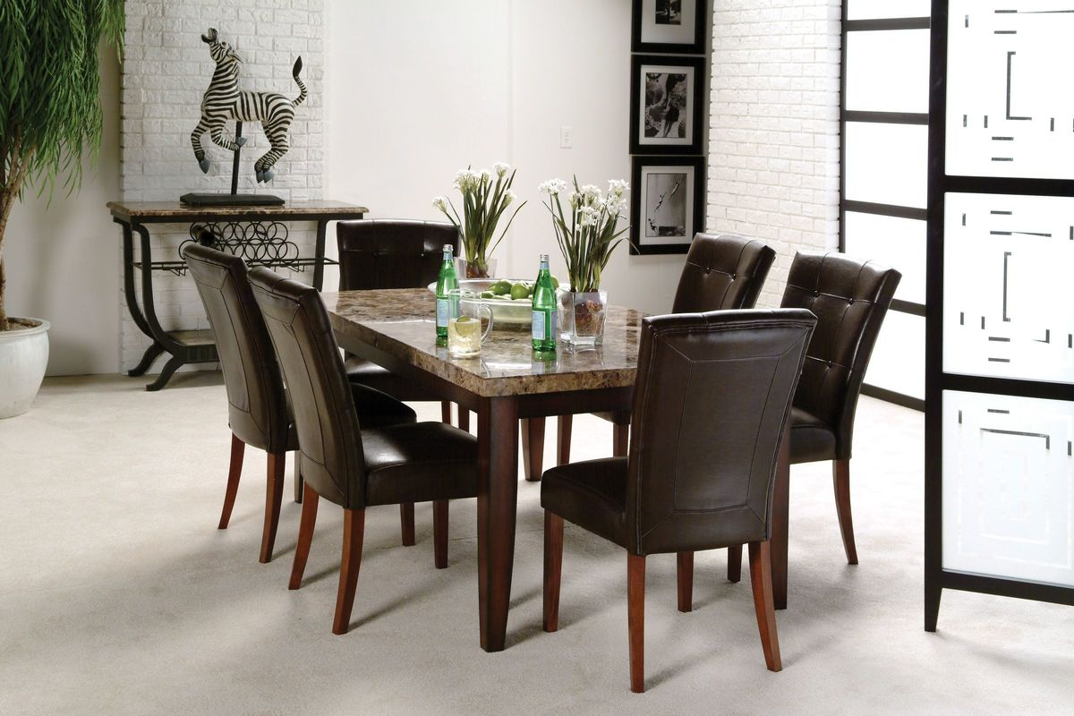 Montibello Dining Table 6 Chairs From Gardner White Furniture