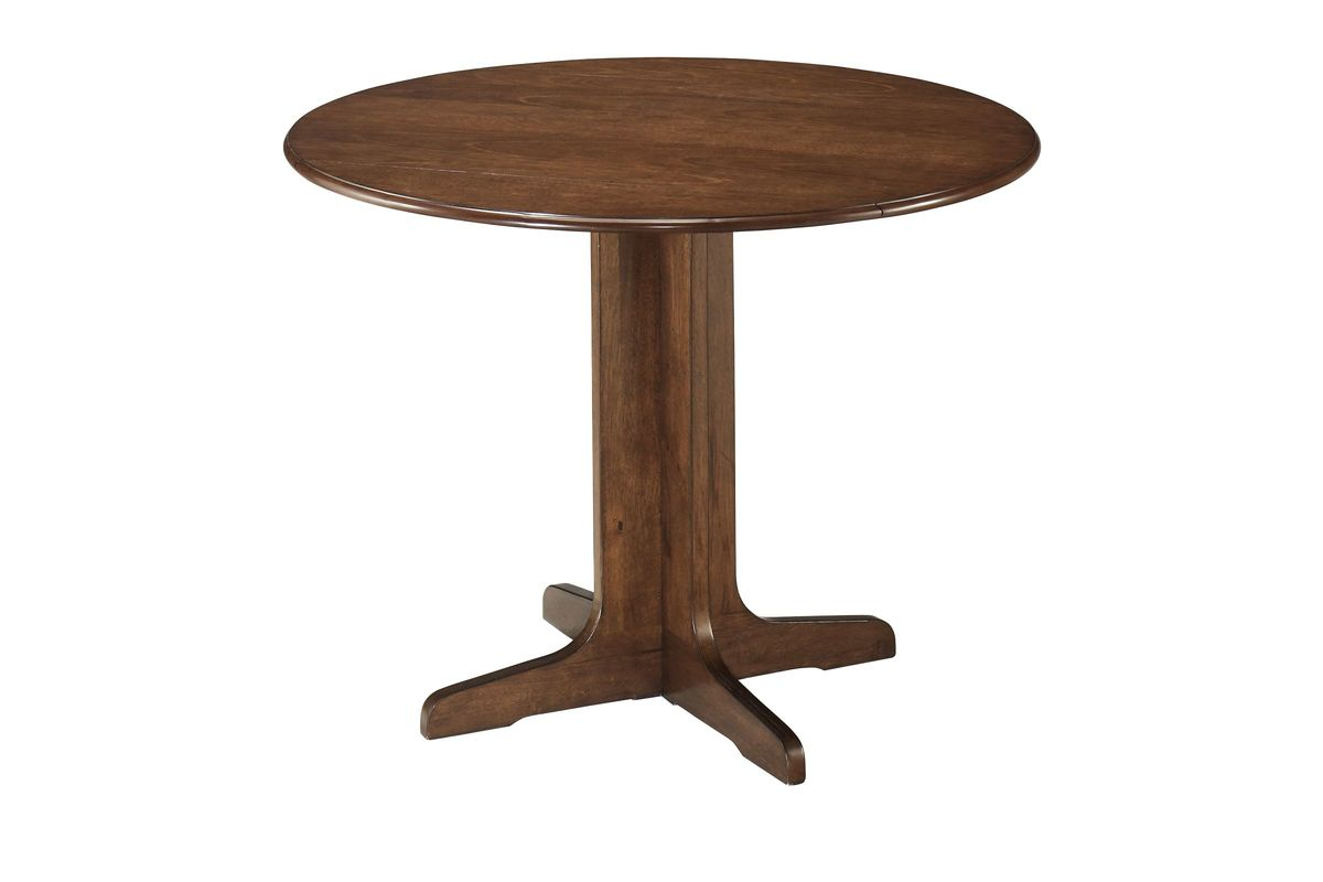 Stuman Round Drop Leaf Table By Ashley At Gardner White