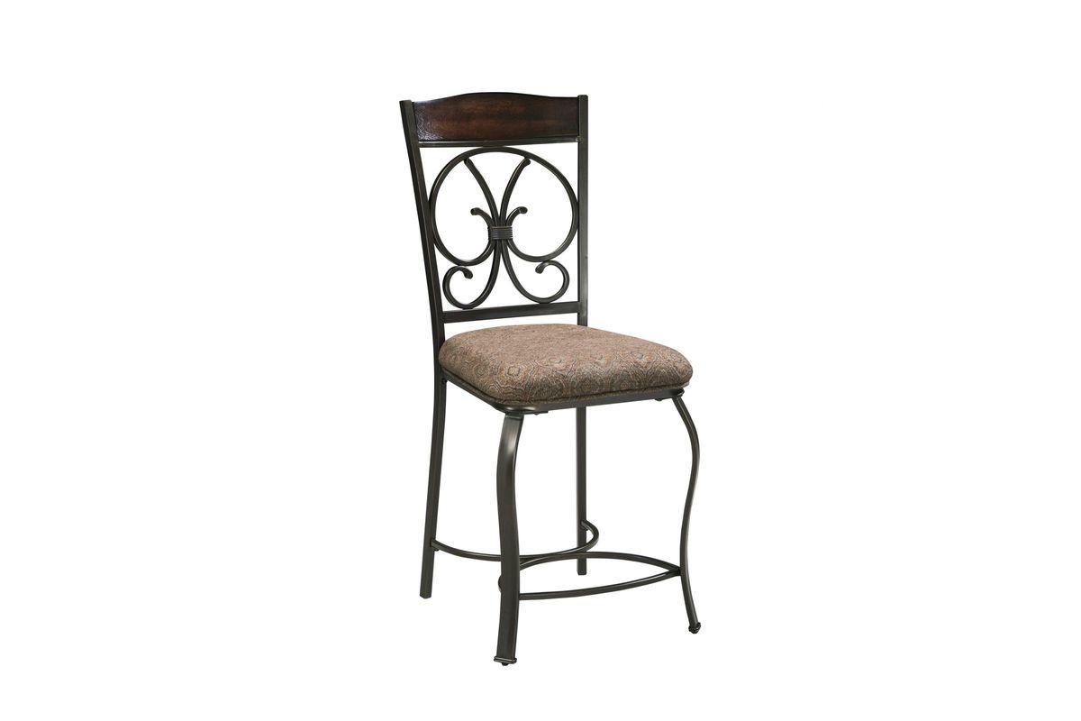 Glambrey Upholstered Barstool Set of 4 by Ashley from Gardner-White Furniture