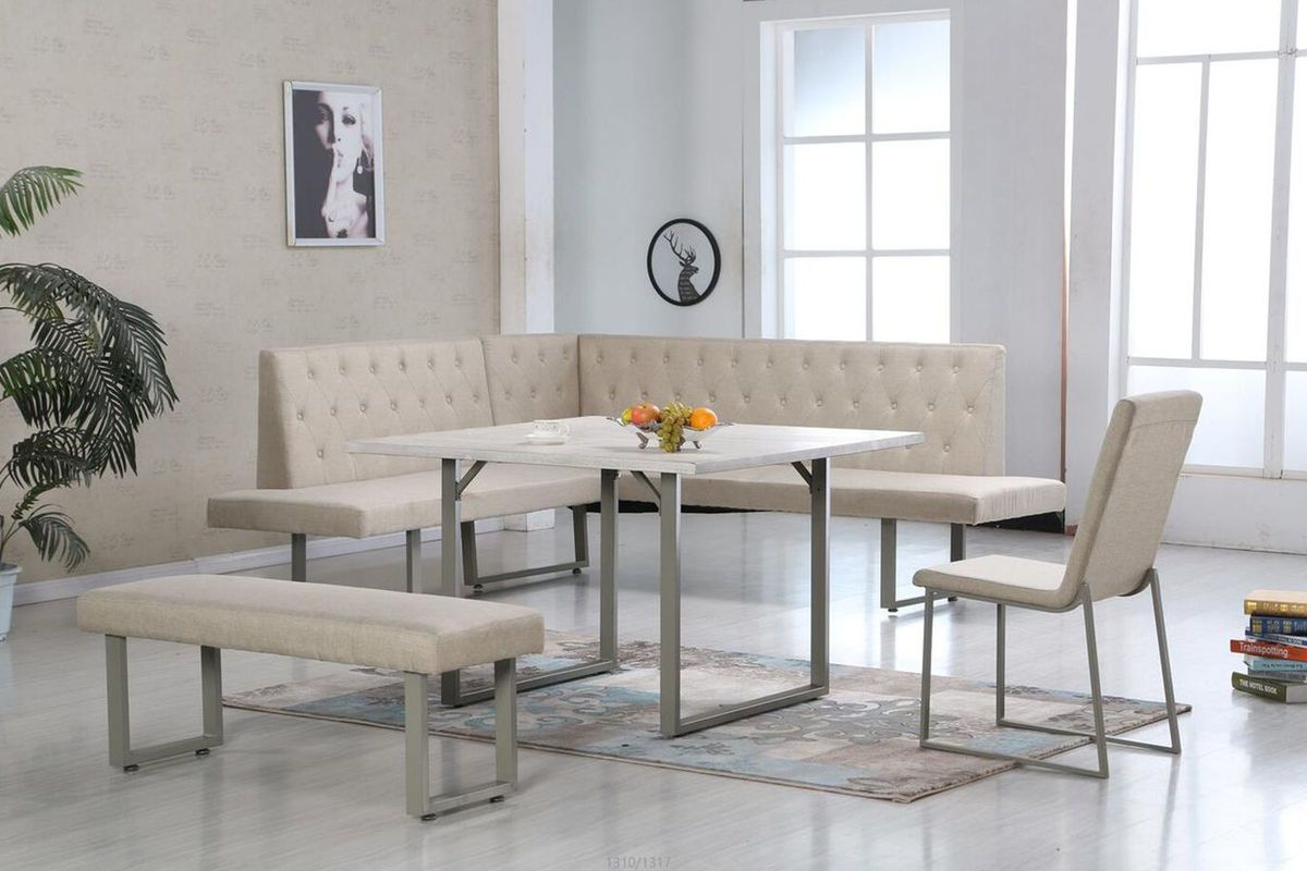 Magnificent Eileen Table Sofa With Corner Seat Bench Side Chair Gmtry Best Dining Table And Chair Ideas Images Gmtryco