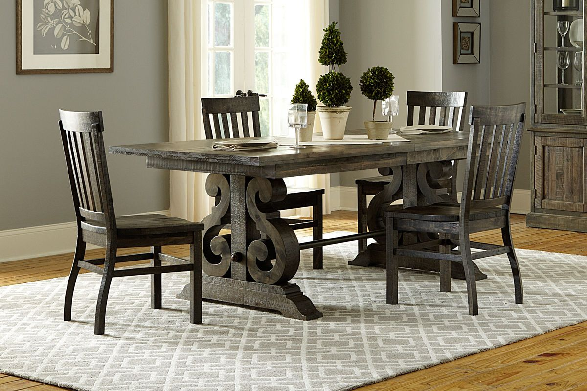 Bellpine Rectangular Dining Table + 4 Side Chairs from Gardner-White Furniture