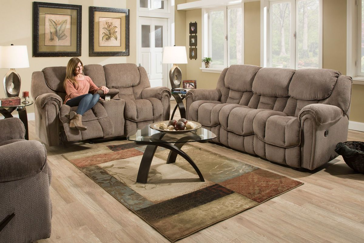 Emery Power Reclining 8-Piece Big Picture Package with 50
