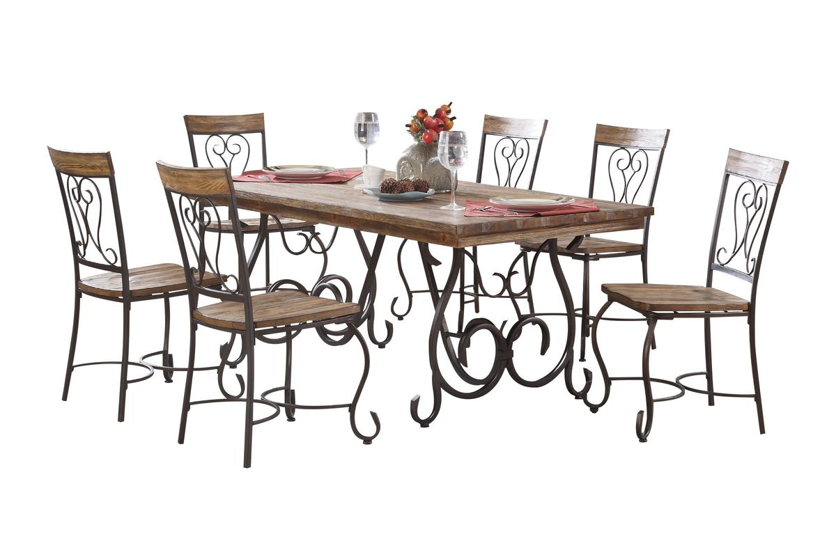 Turpin Dining Table + 4 Side Chairs from Gardner-White Furniture