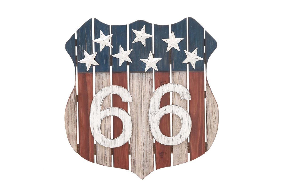 Vintage Reflections Route 66 Wall Decor By Uma At Gardner White