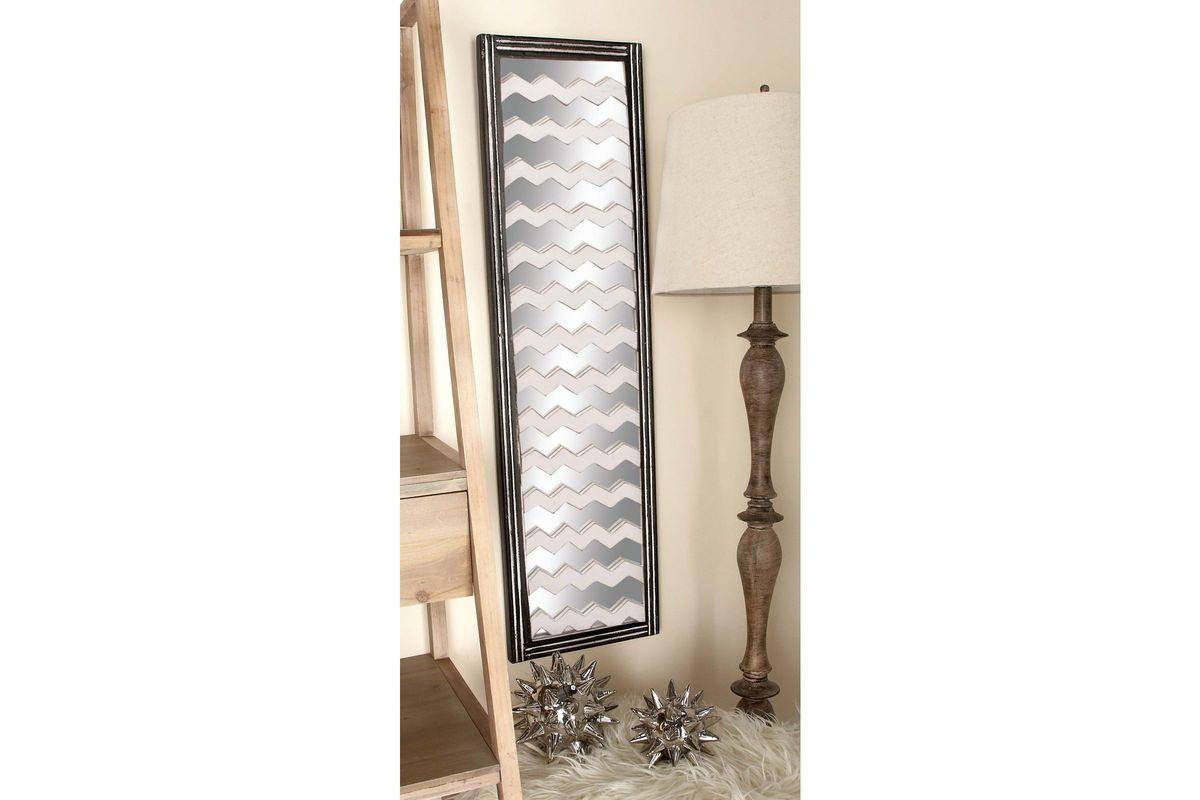 Mirrored wall panels
