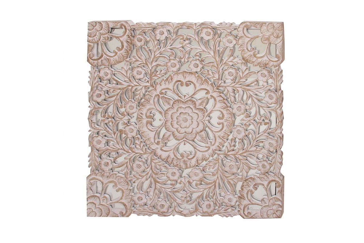 Rustic Elegance Floral Wall Panel from Gardner-White Furniture