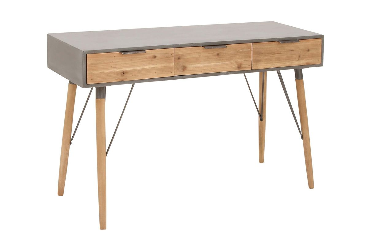 Rustic Reflections Console Table In Naturalgrey At Gardner White