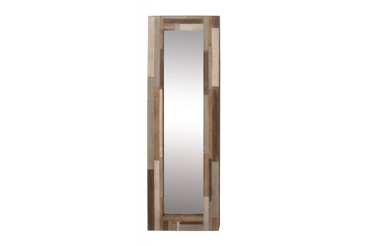 Modern reflections tall rectangular wall mirror with for White tall wall mirror