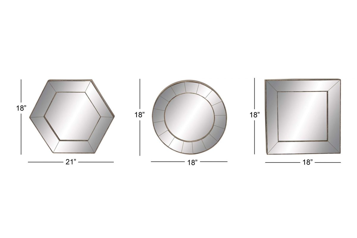 Updated Traditional Square, Hexagonal And Round Wall