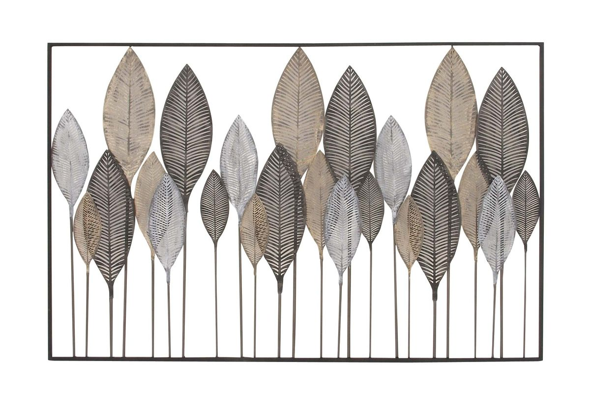 Natural Reflections Leaf Wall Decor By Uma From Gardner White Furniture