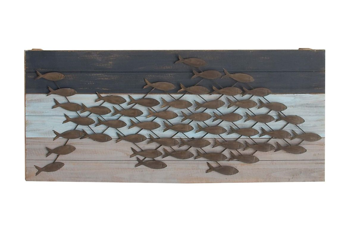 Coastal Living Fish Wall Decor By Uma From Gardner White Furniture