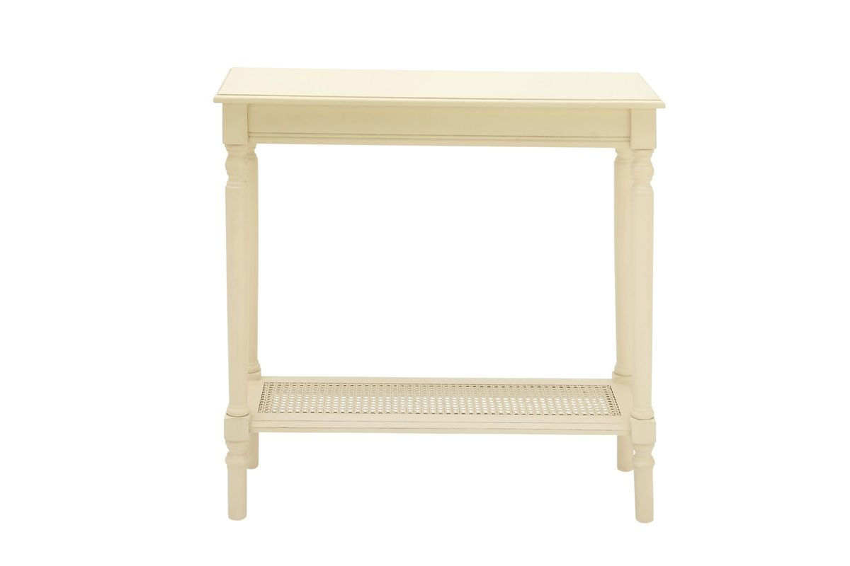 Farmhouse Ivory Painted Console Table From Gardner White Furniture