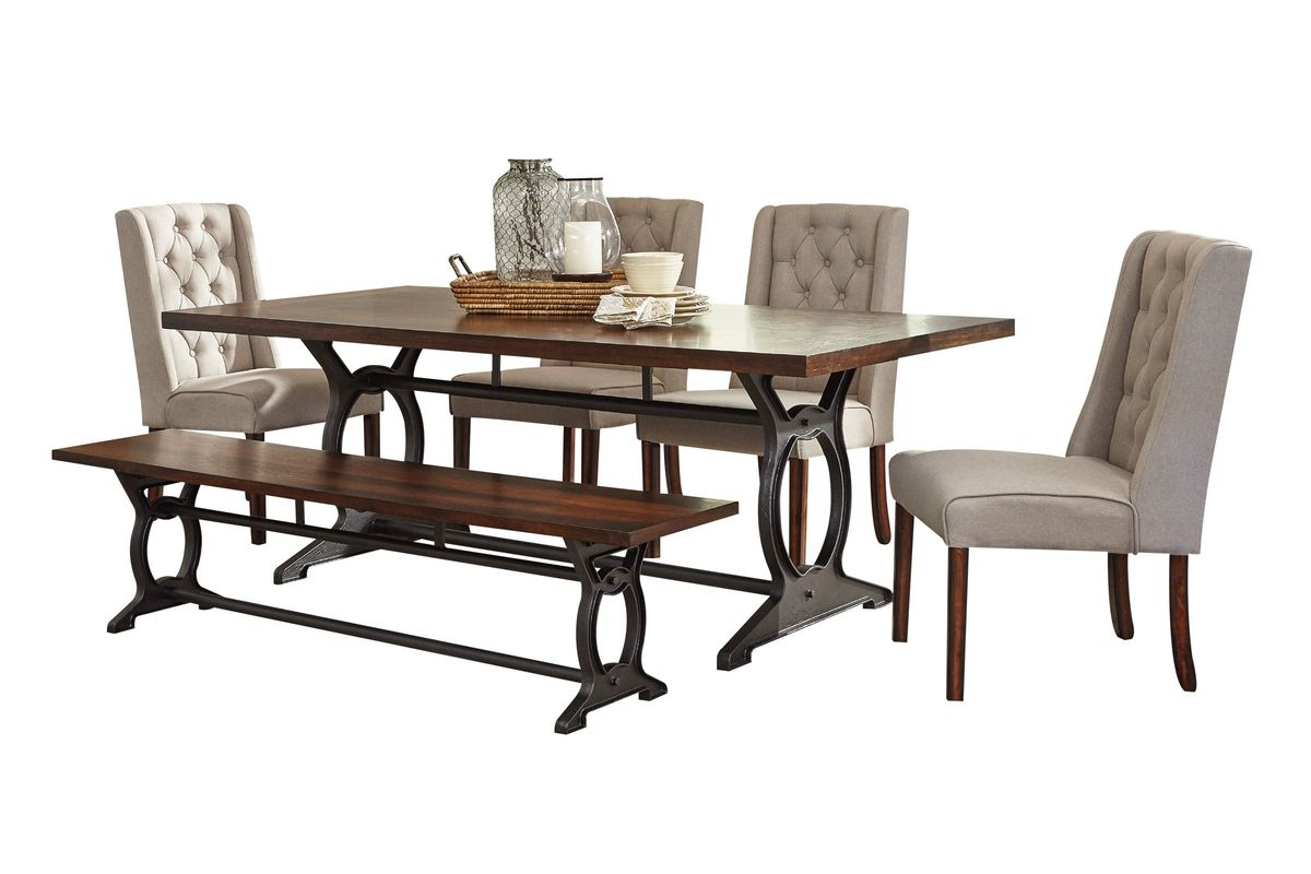 Laurel Dining Table + 4 Side Chairs from Gardner-White Furniture