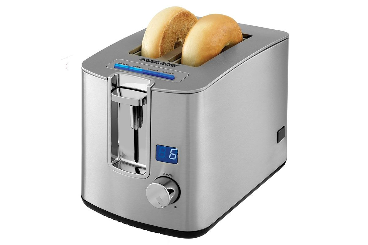 Black & Decker Two Slice Toaster Brushed Stainless Steel
