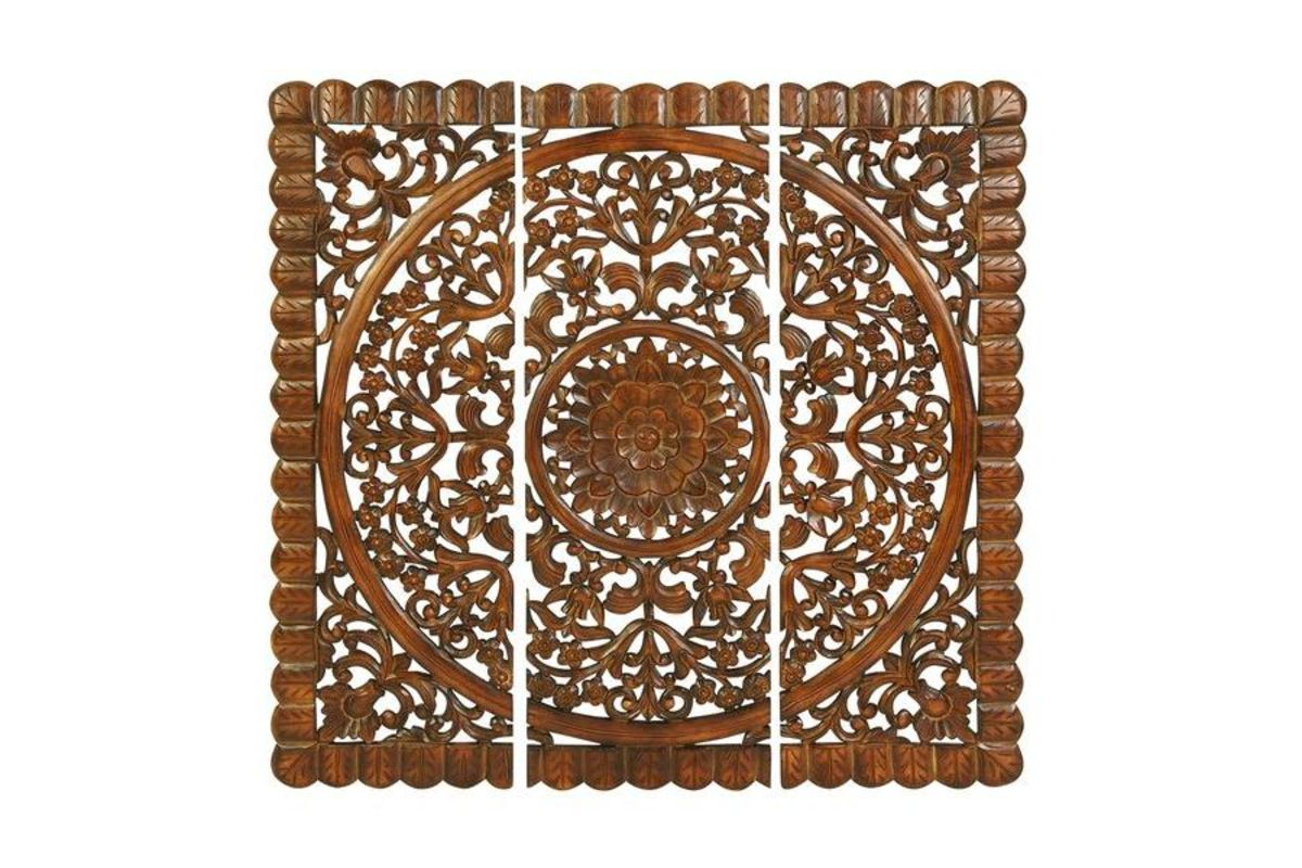 Updated Traditional Scrollwork Wall Panels (Set of 3) in Cherry from Gardner-White Furniture