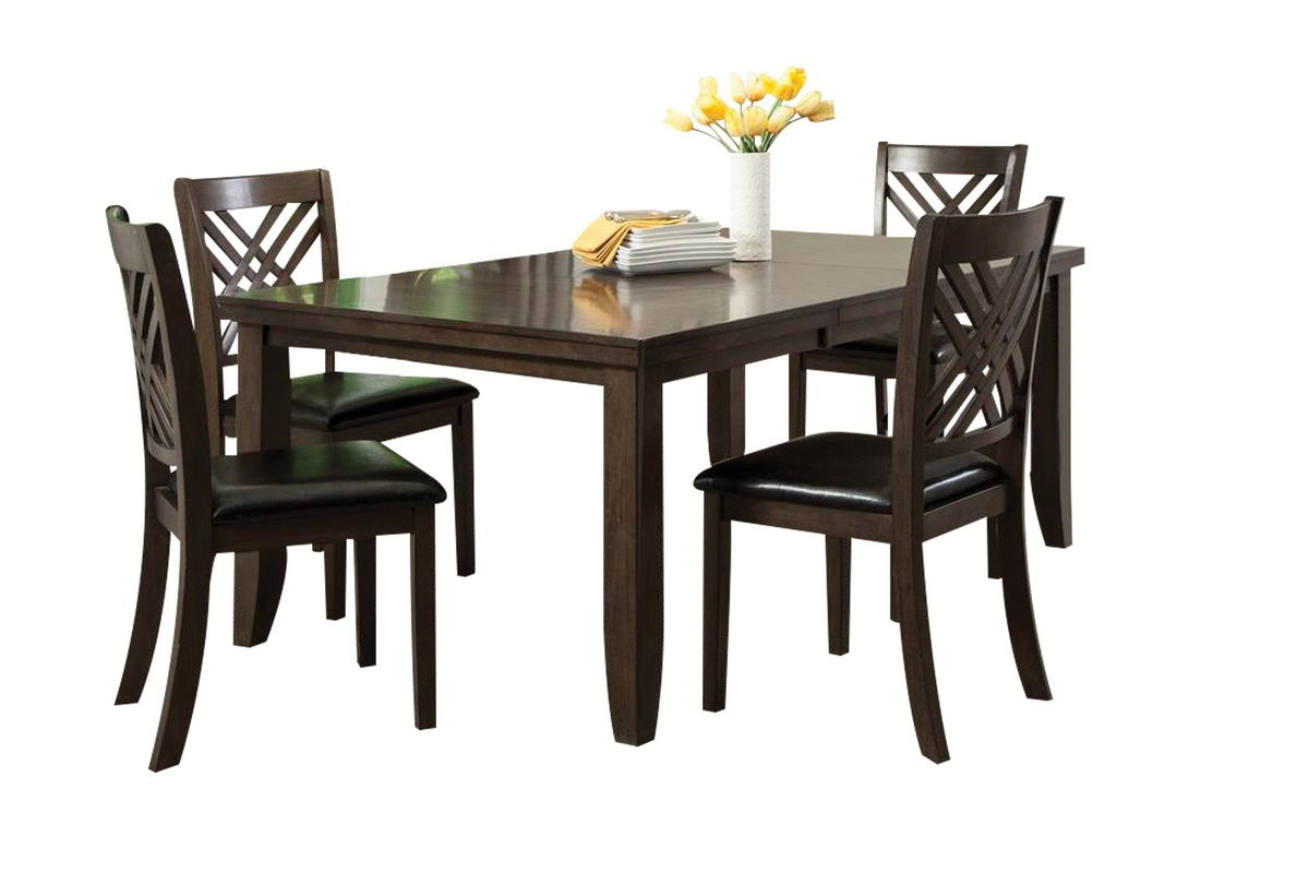 Outstanding Lebaron Table 4 Side Chairs Download Free Architecture Designs Scobabritishbridgeorg
