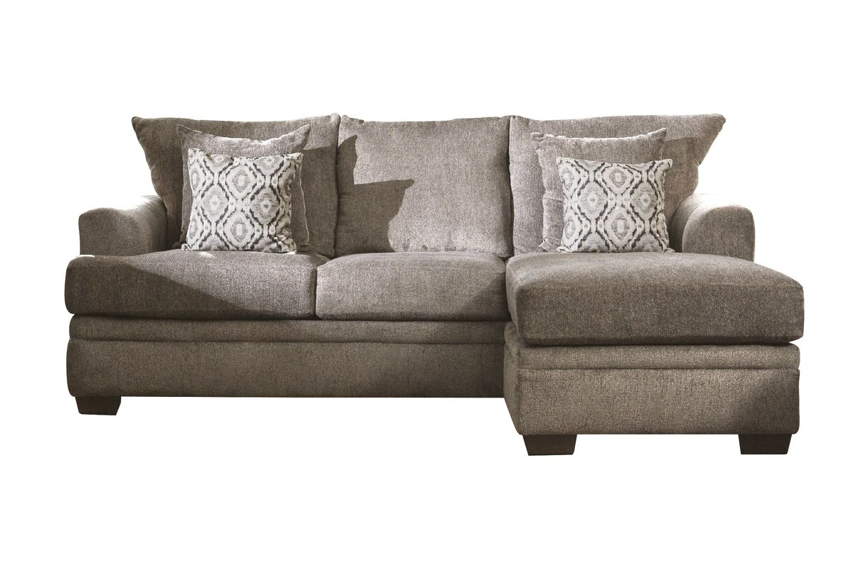 Lynwood Chenille Sectional with Moveable Chaise from Gardner-White Furniture